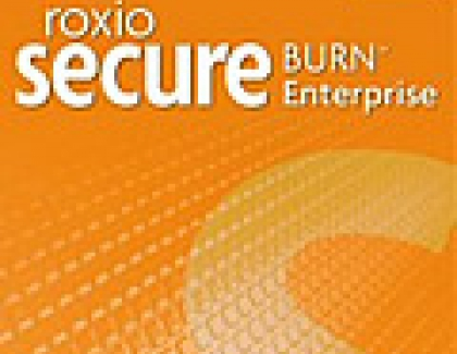 New Roxio Secure Burn Enterprise Protects Information on Portable Media