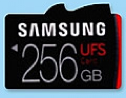 Samsung Offers World's First Universal Flash Storage  Removable Memory Cards