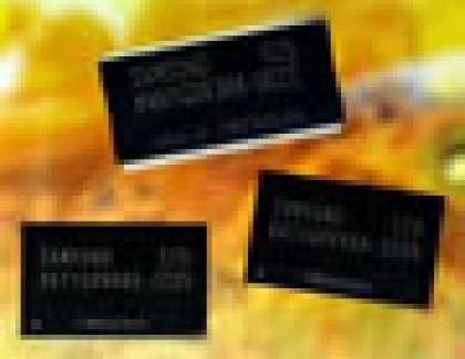 Samsung Develops First 50nm DRAM Chip