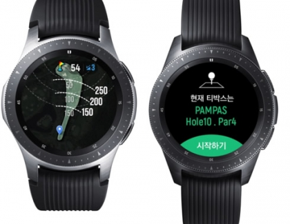Samsung Releases Galaxy Watch Golf Edition