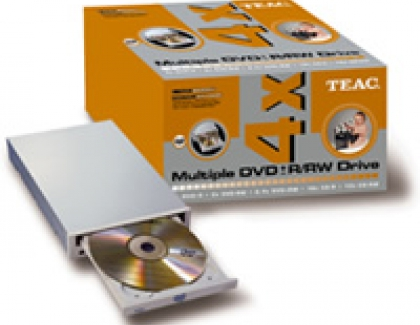 Teac announces dual DVD burner