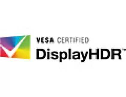 VESA Defines DisplayHDR Standard for PCs, Laptops and Displays