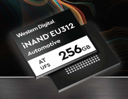 Western Digital Releases New 3D NAND UFS Embedded Flash Drive For Connected Cars