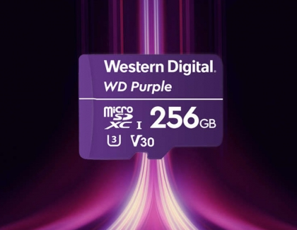 Western Digital Releases 3D NAND UFS Embedded Flash Drive, WD Purple microSD Card and Video Surveillance Data Management