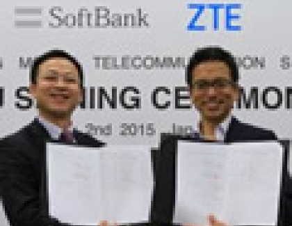 ZTE Signs Joint Pre5G Agreement with SoftBank