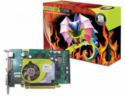 POINT OF VIEW announced GeForce 6600GT and GeForce 6600.