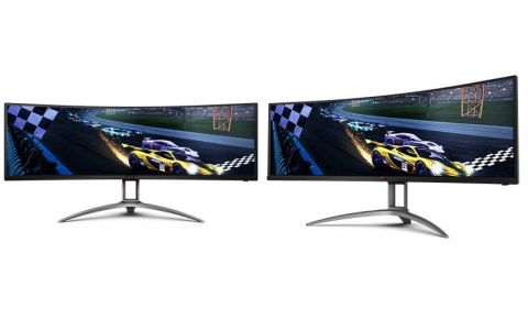 "AOC Announces the 49"" AGON AG493UCX Gaming Monitor"