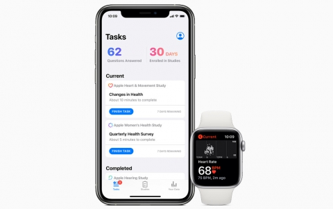 Apple's New Research App Lets Users Enroll Health Studies