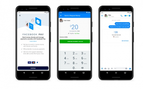 Facebook Pay Simplifies Payments Though Facebook, Messenger, Instagram and WhatsApp