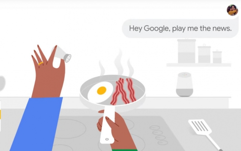 Google Assistant Will Play You the News