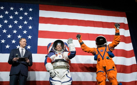 NASA Unveils One-size-fits-all Space Suits