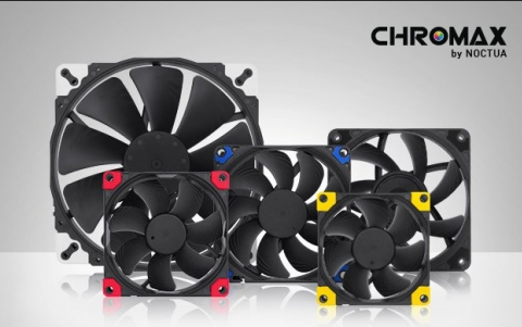 Noctua Releases New Chromax Line of Fans