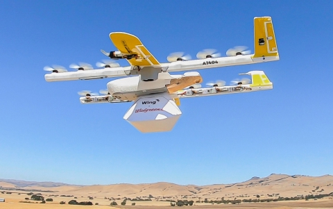 Alphabet's Wing to Make drone deliveries for Walgreens, FedEx
