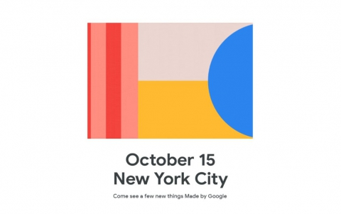 Made by Google Event to be Held on October 15