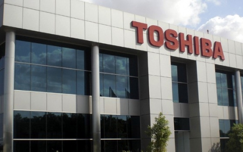 Toshiba Reports Best Profit in Two Year