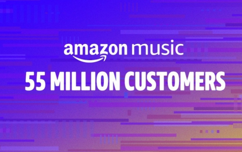 Amazon Music Crosses 55 Million Subscribers