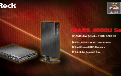 ASRock Announced The World's Thinnest AMD Mini PC – Mars 4000U Series