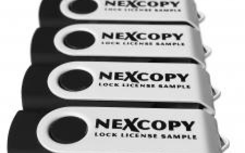 Nexcopy Inc. Introduces the USB Write Protect Lock License Flash Drive.