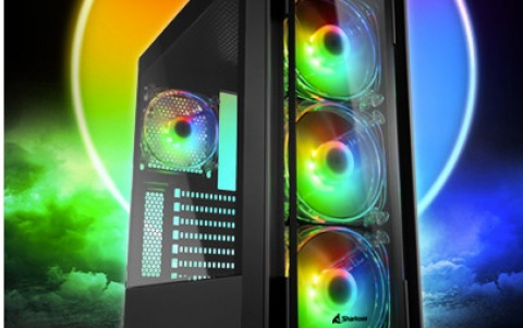 Sharkoon SK3 RGB & TK4 RGB | Compact Cases with a Lot of Room Inside