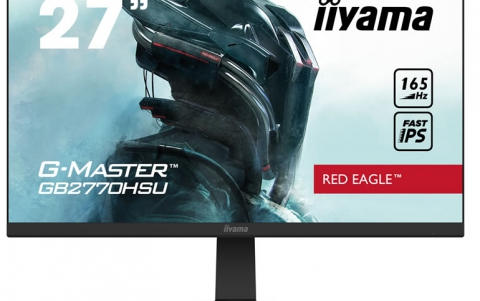 IIYAMA INTRODUCES TWO NEW G-MASTERS RED EAGLE #MONITORS4GAMERS: A 24'' GB2470HSU AND A 27'' GB2770HSU