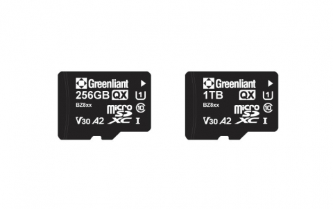 Greenliant Launches High Capacity 1TB microSD ArmourDrive™ Industrial Memory Cards