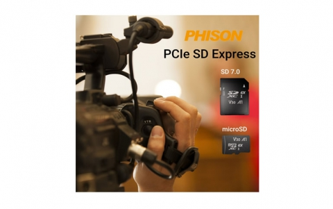 PHISON IS THE FIRST TO SHIP THE NEW PCIe SD EXPRESS CARD (SD 7.0)