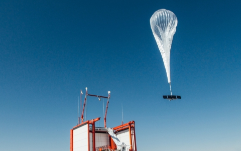 SoftBank Unit Invests $125 Million in Google's Loon Balloons