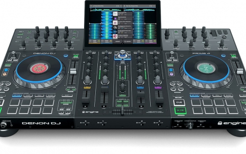 Denon Takes on Pioneer With New Four-channel Standalone Prime 4 DJ System