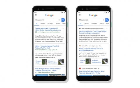 Google Redesigns Mobile Search Page