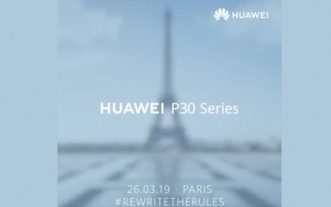 Huawei's P30 Smartphone to Launch on March 26th