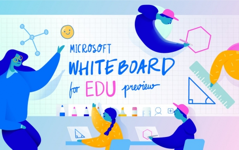 Microsoft Whiteboard for Education Launches With New Features