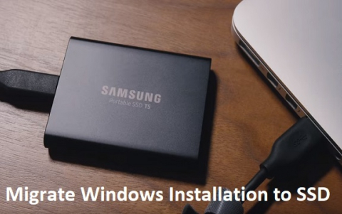 Migrate Windows Installation to SSD