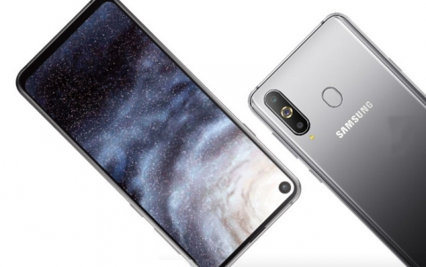 Samsung Unveils New Galaxy A8s With Infinity-O Display