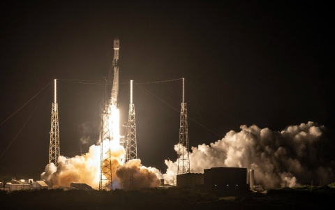 SpaceX Launches 60 Satellites for Starlink Space-Based Broadband Network
