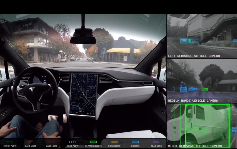 Musk Says Tesla's Self-Driving System Coming by the End of the Year