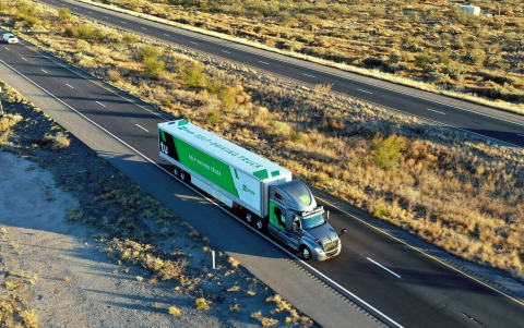 U.S. Postal Service Starts Delivery Test Using TuSimple's Self-driving Trucks