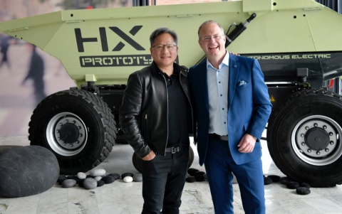 NVIDIA's DRIVE Platform to Power Volvo's Driverless Trucks