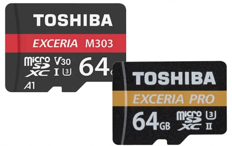 Toshiba Exceria M303 64GB and M501 Exceria Pro 64GB MicroSDXC review