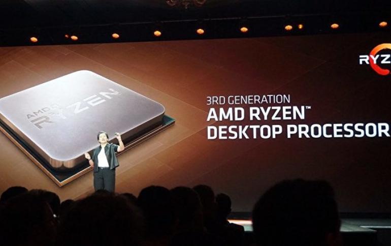 AMD Promises to Fix 3rd-gen Ryzen Speed Boost Bug