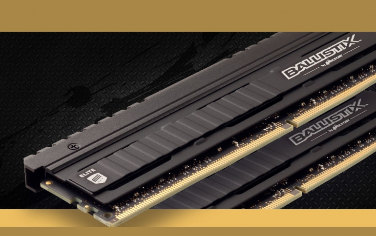 Crucial Ballistix DDR4 Modules Overclocked to 6024MT/s