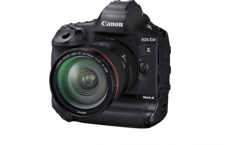 Canon Develops The EOS-1D X Mark III Camera For Pros