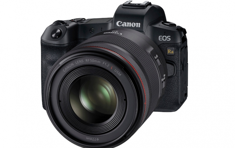 Canon Releases the EOS Ra Full-Frame Mirrorless Camera For Astrophotography