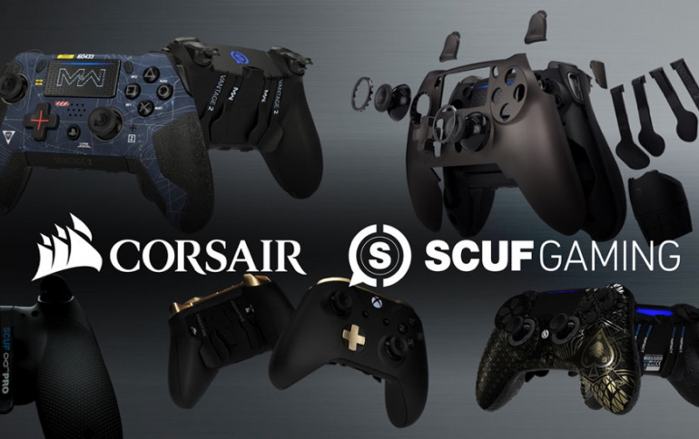 CORSAIR to Acquire SCUF Gaming