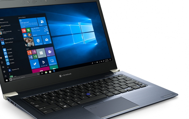 Dynabook Partners With Microsoft to Secure Windows 10 Laptops