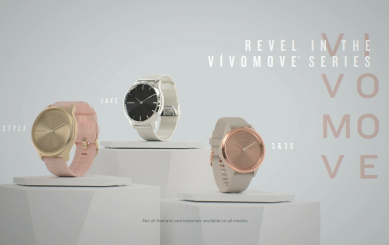 IFA: Garmin Introduces the vívoactive 4, Venu GPS and vívomove Smartwatches