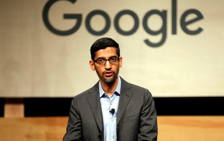 Google Co-founders Step Down, Pichai Takes Over Alphabet