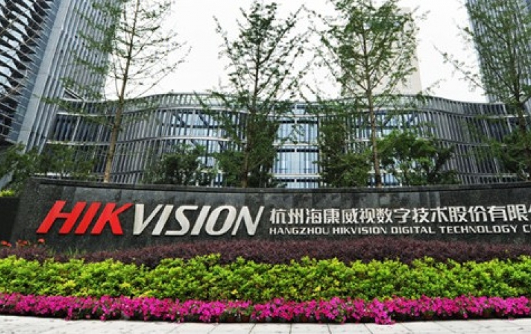 China Surveillance Giant Hikvision Warns of Losses After U.S. Curbs