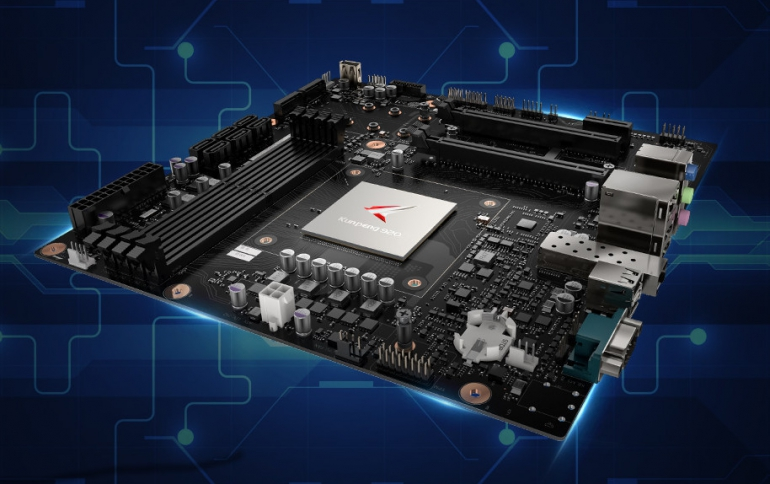 Huawei Unveils PC Motherboard for Kunpeng 920 ARMv8 Processors