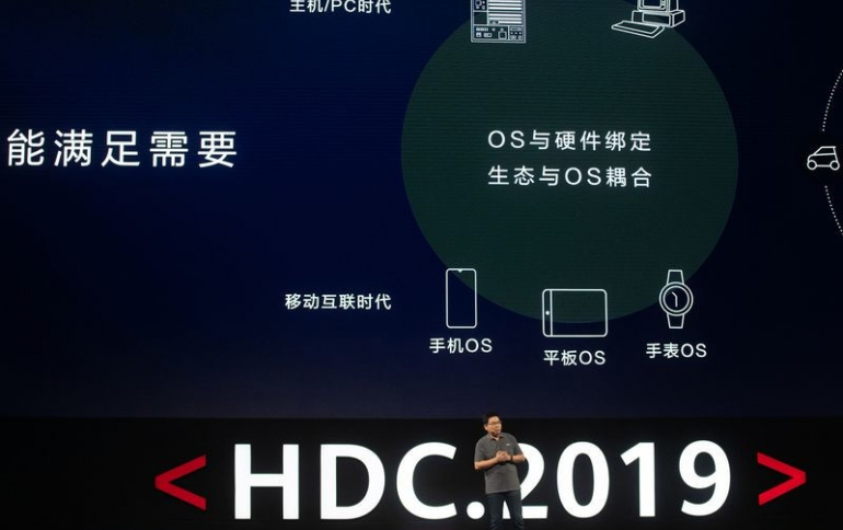"Huawei Unveils New ""Harmony OS"" for Use in Smartphones, Laptops and Other Devices"