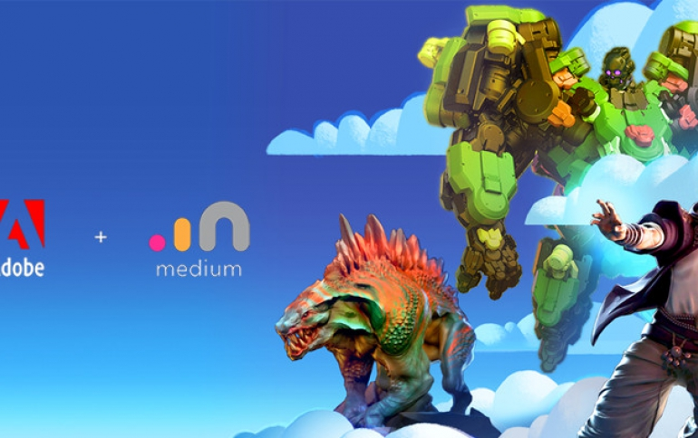 Oculus Medium Sold to Adobe